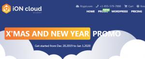 Krypt iON云服务器双旦促销
